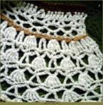Victoriana shawl
