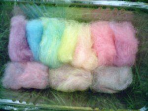 Angora fleece