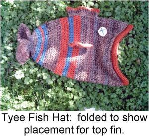 Crochet Fish / Fishy Patterns Deadfishhat.com