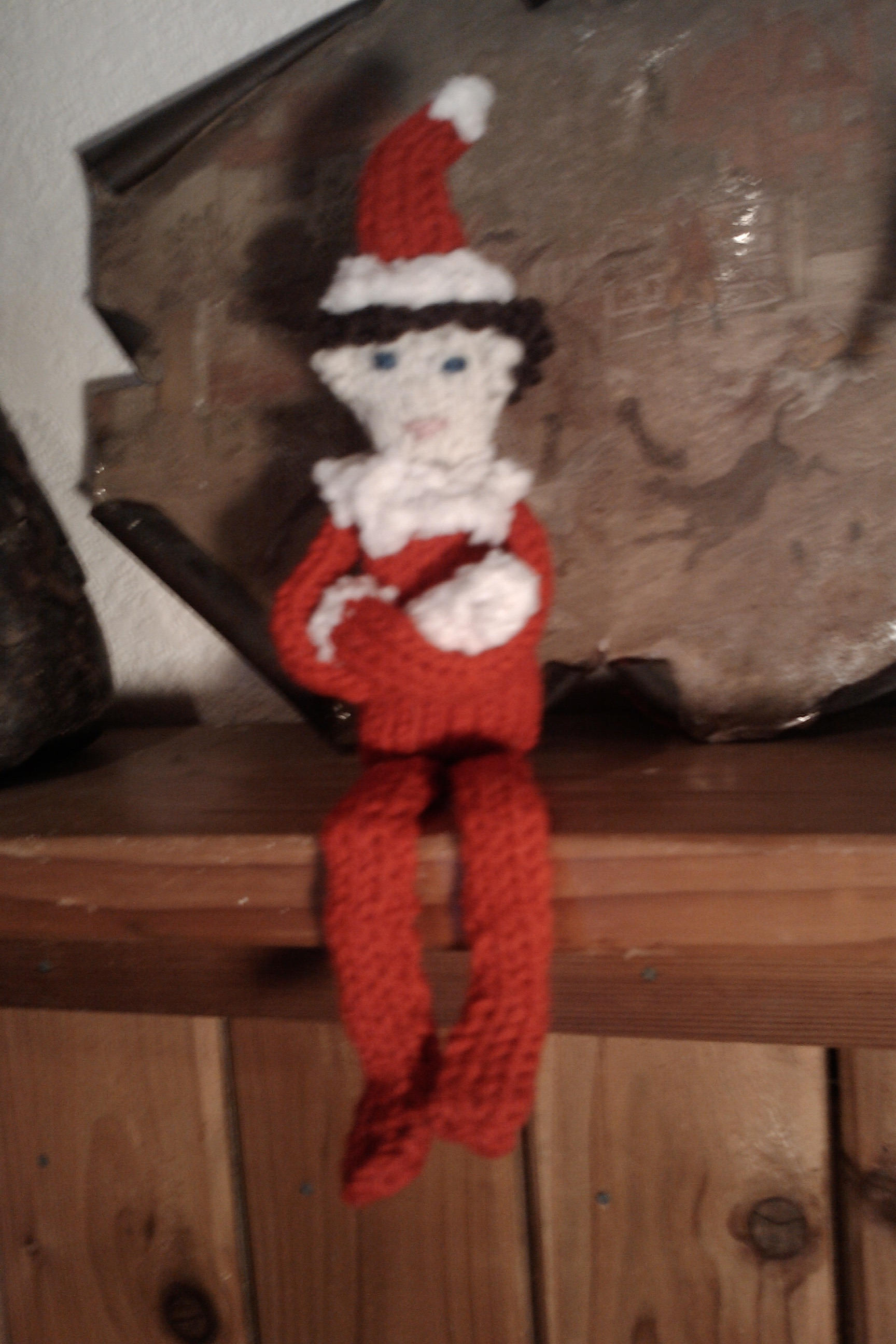Knitting Pattern For Elf On The Shelf : knitted elf on a shelf West Coast Fibre Arts: Super, Natural