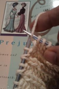 brioche stitch, bracelet 007