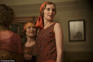 Lady Edith party dress