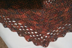 Lady Edith shell stitch