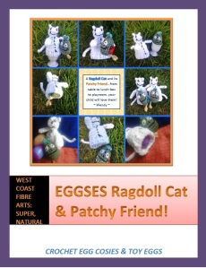 Ragdoll Cat & Patchy Friend pattern photo