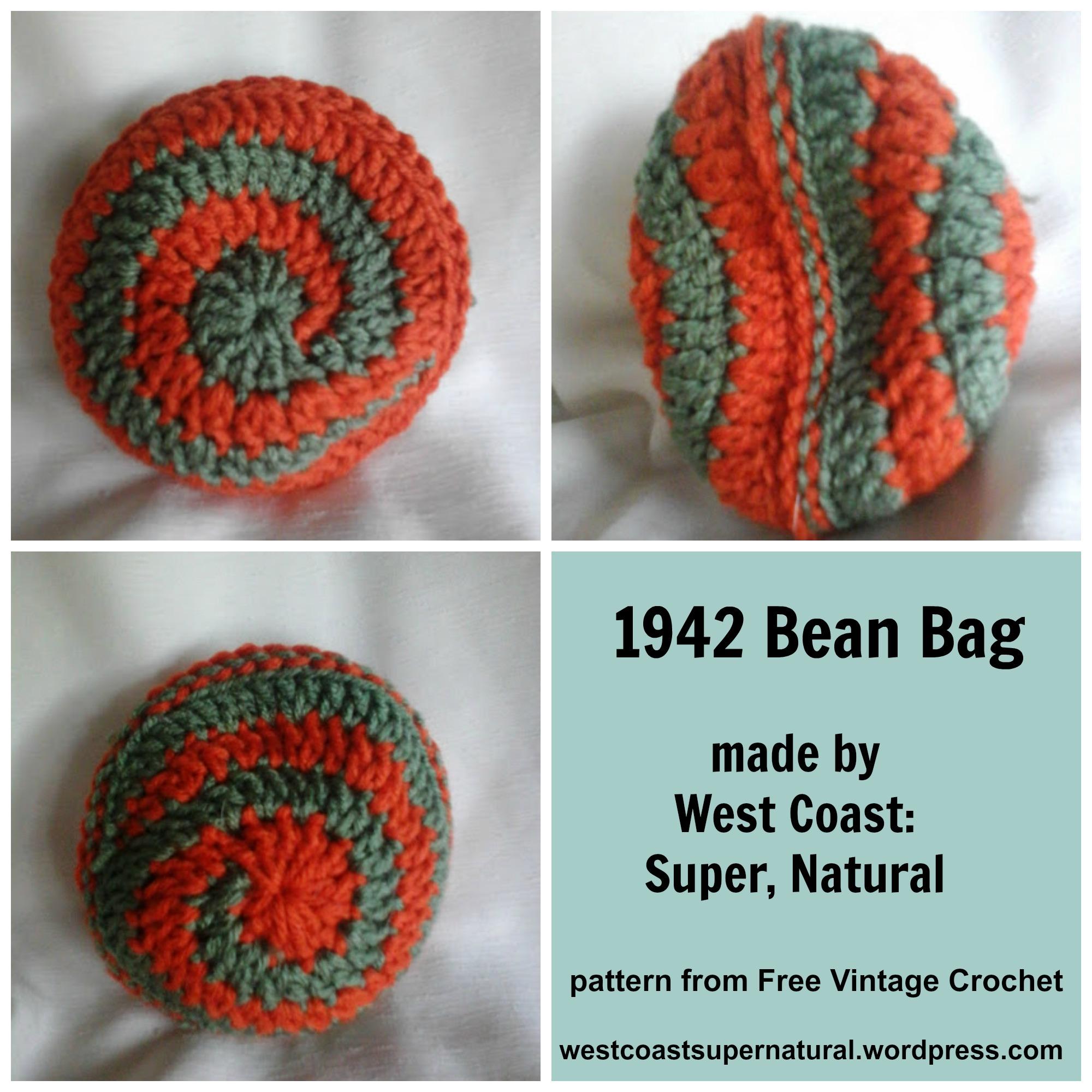Crochet Bean Bag Tutorial : CAL West Coast Fibre Arts: Super, Natural Page 2