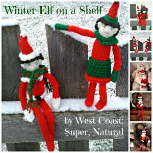 winter elf Collage