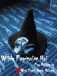 witch fascinator hat