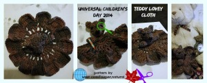 FB Teddy Lovey Cloth