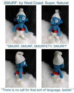 Smurf quote Collage