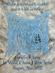 Geillis Cloth no starch