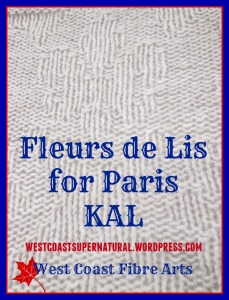 fleurs de Lis for Paris kal