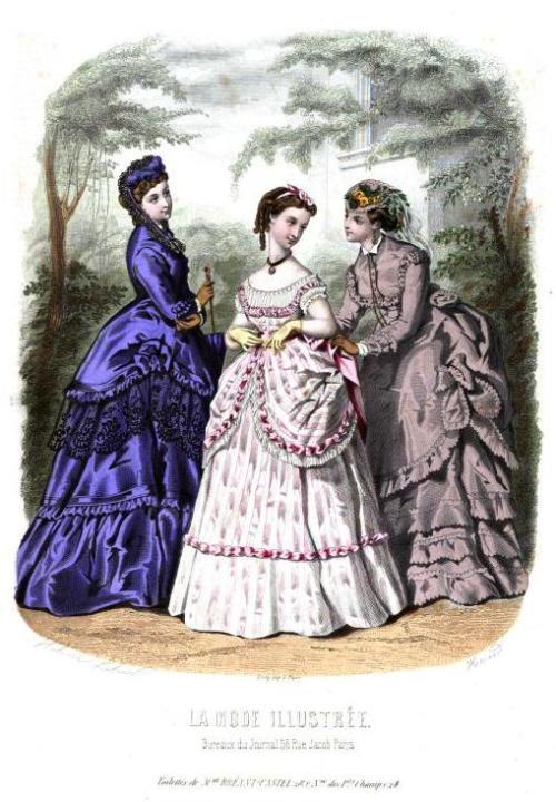 la mode 1869