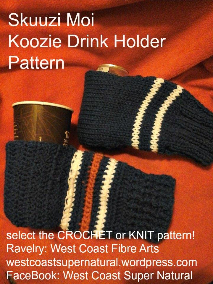 Skuuzi Moi koozie knit crochet