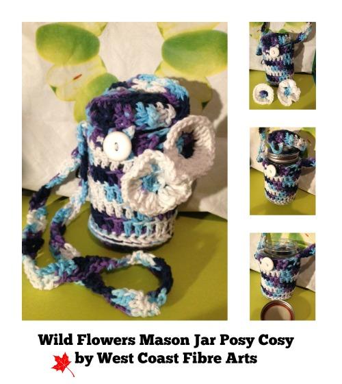 wild flowers posy cosy